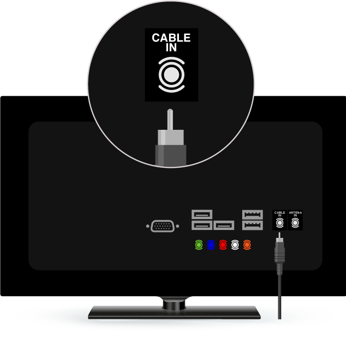 cable in